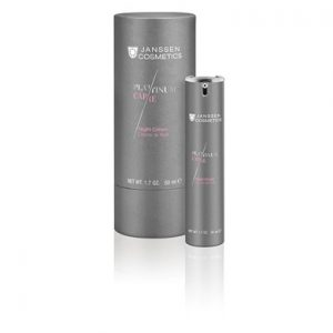 Anti ageing platinum night facial moisturiser
