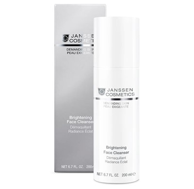Anti ageing brightening cleanser for dry skin