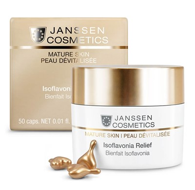 Antioxidant capsules serum for mature skin