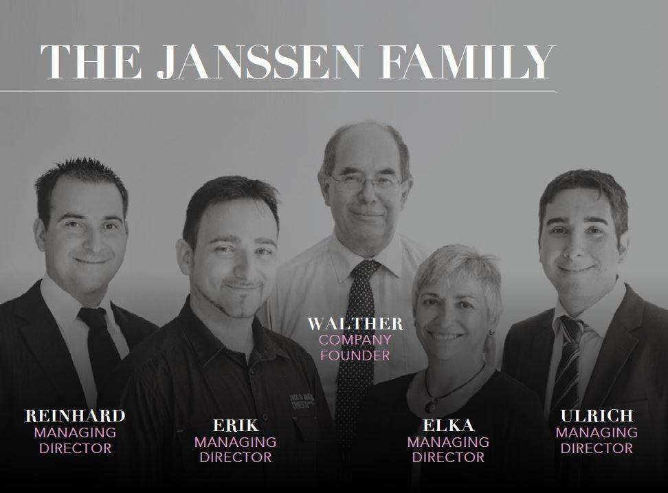 Janssen Cosmetocs Family
