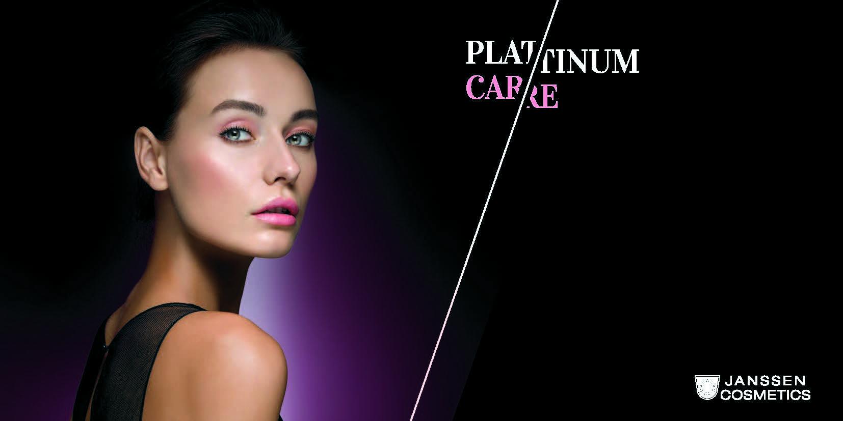 Platinum skincare banner