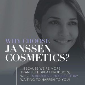 Why choose Janssen Cosmetics?