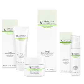 Skincare products for combination skin