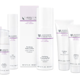 Skincare products for oily blemished skin