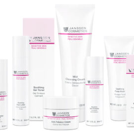 Skincare products for sensitive skin