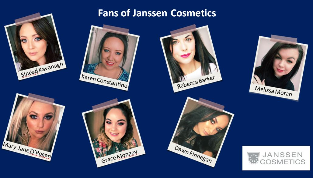 IRISH BLOGGERS THAT LOVE JANSSEN COSMETICS!