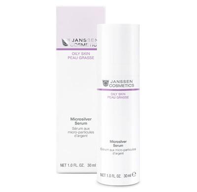 Microsilver serum for oily skin