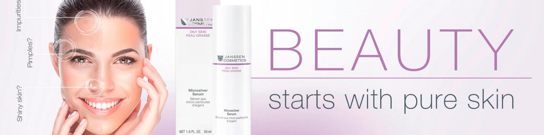 Microsilver serum from Janssen Cosmetics Oily Line